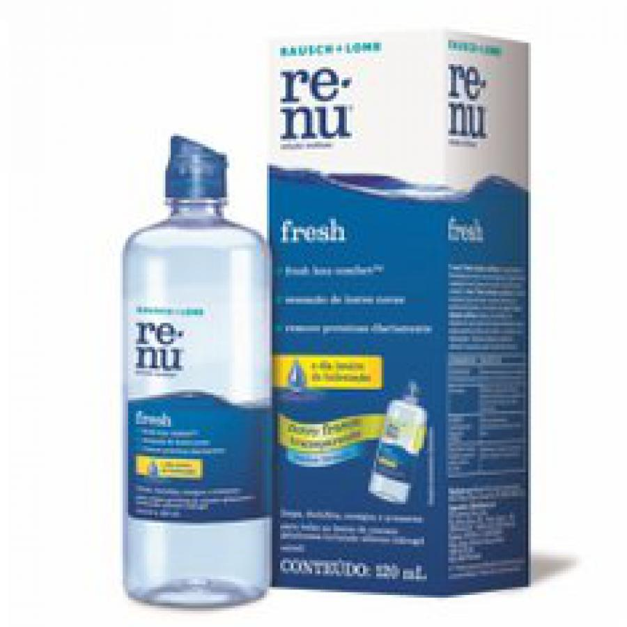 Renu Plus sem Fricção 120ml
