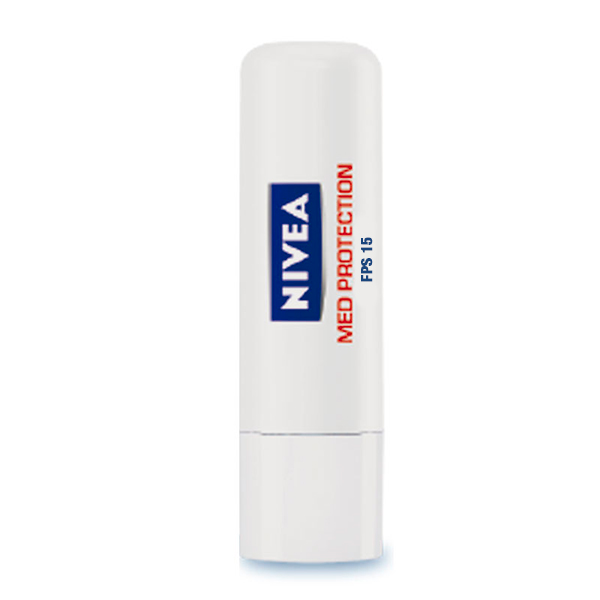 Hidratante Labial Nivea Lip Care Med Protection FPS15 4,8g