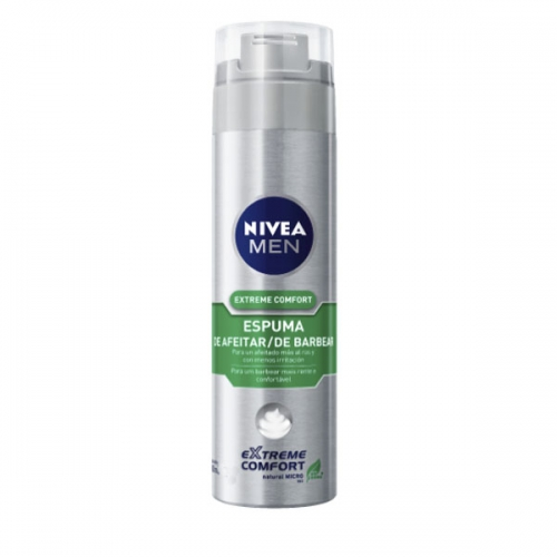 ESPUMA DE BARBEAR NIVEA FOR MEN EXTREME COMFORT 195G