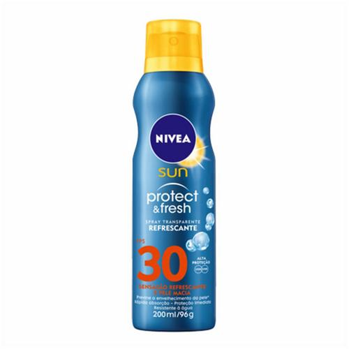 PROTETOR SOLAR NIVEA 30 PROTECT&FRESH 200ML/96G