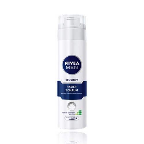 Espuma de Barbear Nivea Men Sensitive 200mL