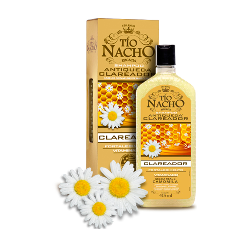 Shampoo Tio Nacho Clareador 415ml