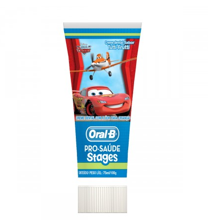 CREME DENTAL ORAL B STAGENS MIXCARS / PRINCESAS / POOH 75ML