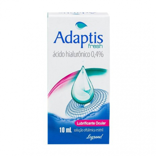 Adaptis 1% colírio 10ml