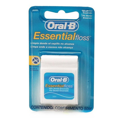 Fio Dental Oral B Essencial Floss Men 50 Metros