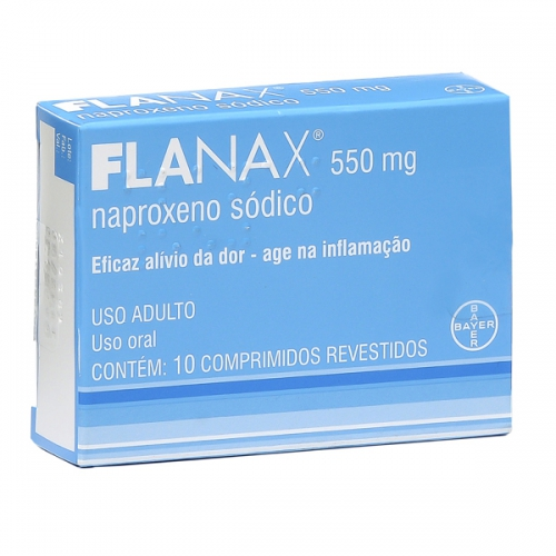 FLANAX 550MG 10 CPR
