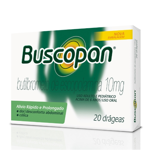 Buscopan 20 drageas