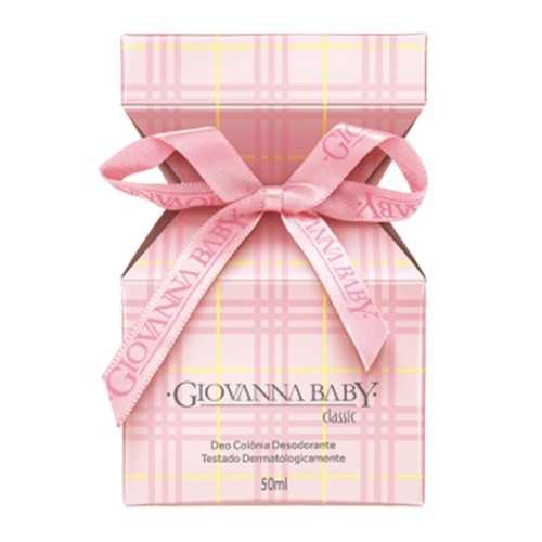 COLONIA GIOVANNA BABY 50ML ROSA