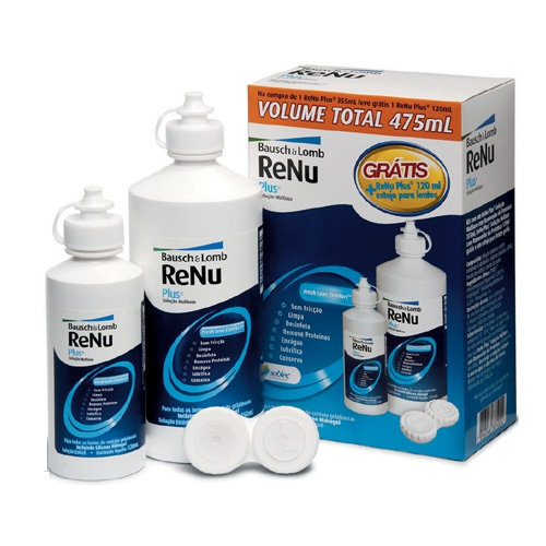 RENU FRESH 355ML + 120ML + ESTOJO PARA LENTES