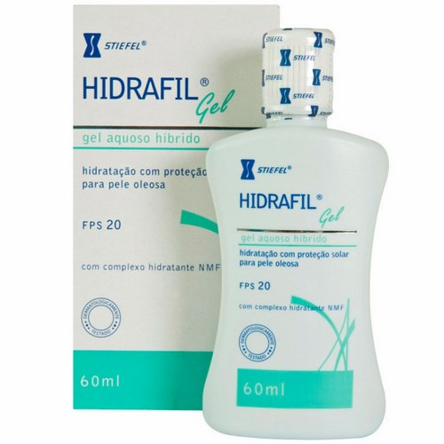 Protetor Solar Hidrafil Gel Fps20 60ml