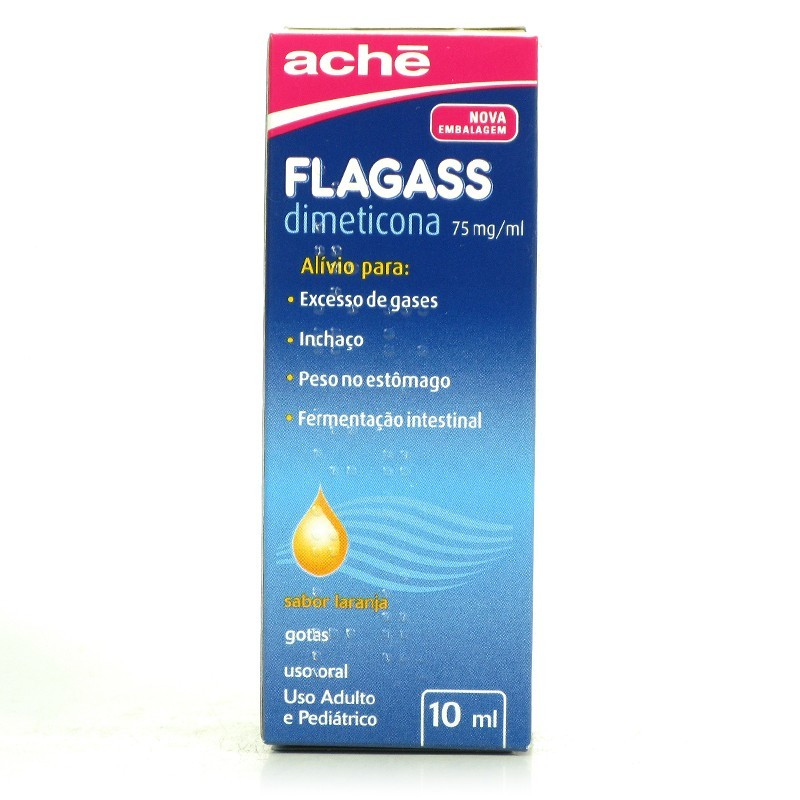 Flagass Gotas 75mg/ml 10ml